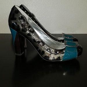 Naughty Monkey sz 8.5 heels